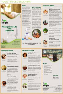 Yogis Brochure