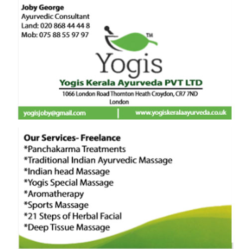 Yogis Business Cards