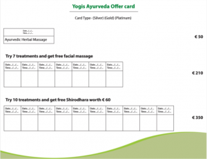 Yogis Discount Card