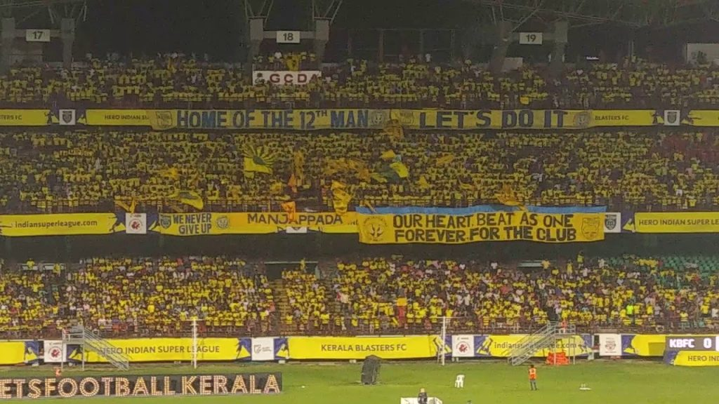 We Will Never Stop Our Support - Kerala Blasters